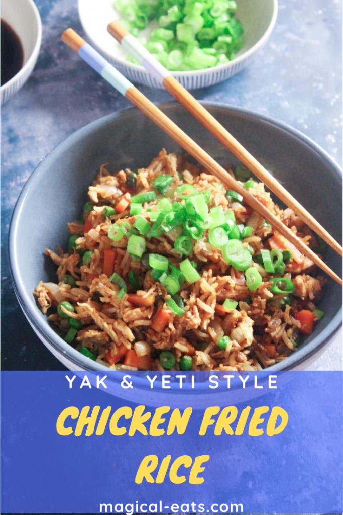 Yak and Yet Chicken Fried Rice Pin Image
